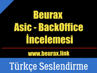 Beurax asic Backoffice İncelemesi
